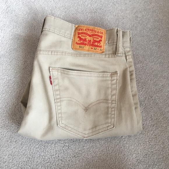 Levi's Other - Men's khaki colored Levi's jeans